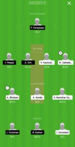 PSM vs PBVA Dream11 Team for grand league