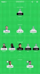 JUV VS LCE TODAY FOOTBALL DREAM11 TEAM PREDICTIONS
