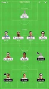 cry vs bur dream11 football team