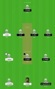 DPS vs SBK Dream11 Team for small league
