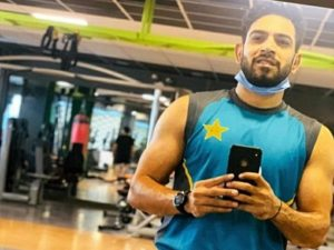Haris Rauf at GYM