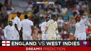 ENG vs WI Dream11 Team Predictions 3rd Test West Indies Tour of England