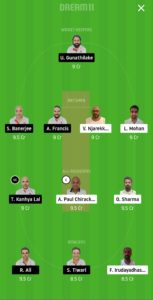MCC vs BRG Dream11 team for small league