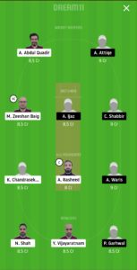 SKK vs GHC Dream11 Team for grand league