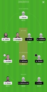 SKK vs GHC Dream11 Team for small league