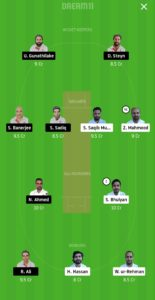BCC vs BRG Dream11 Team for small league