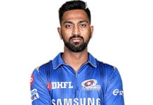krunal pandya full biography