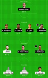 sam vs mil today football dream11 team predictions