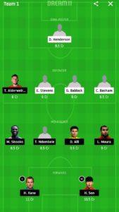 shf vs tot dream11 today football team