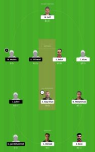 WZC vs KSS Dream11 Team for small league