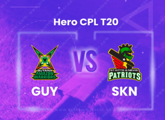 SKN vs GUY Dream 11 Team Prediction CPL 2020 (100% Winning)