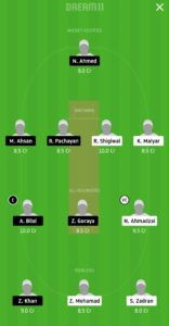 VIA vs SAL Dream11 Team for grand league