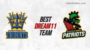BAR vs SKN Dream 11 Team Prediction CPL 2020 (100% Winning)