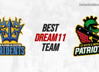 BAR vs SKN Dream 11 Team Prediction CPL 2020 (100% Winning)