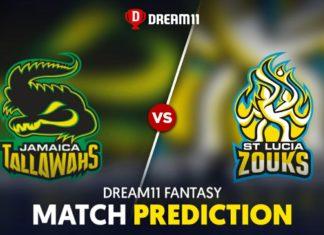 JAM vs SLZ Dream 11 Team Prediction CPL 2020 (100% Winning)