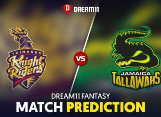 JAM vs TKR Dream 11 Team Prediction CPL 2020 (100% Winning)