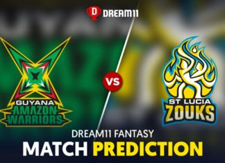 GUY vs SLZ Dream 11 Team Prediction CPL 2020 (100% Winning)