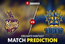 BR vs TKR Dream11 Team Prediction 23rd Match CPL 2021 (100% Winning Team)
