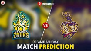 SLZ vs TKR Dream 11 Team Prediction CPL 2020 (100% Winning)