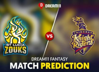 SLZ vs TKR Dream 11 Team Prediction CPL 2020 (100% Winning)