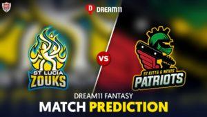 SLZ vs SKN Dream 11 Team Prediction CPL 2020 (100% Winning)