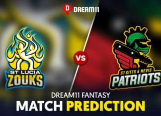 SLZ vs SKN Dream 11 Team Prediction CPL 2020 (100% Winning)