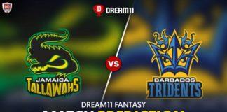 BAR vs JAM Dream 11 Team Prediction CPL 2020 (100% Winning)