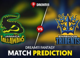 BAR vs JAM Dream 11 Team Prediction CPL 2020 (100% Winning)