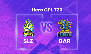 SLZ vs BAR Dream 11 Team Prediction CPL 2020 (100% Winning)