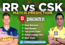 SRH vs RCB Dream11 team prediction