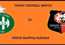 STE VS REN TODAY FOOTBALL MATCH