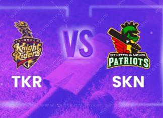 TKR vs SKN Dream 11 Team Prediction CPL 2020 (100% Winning)