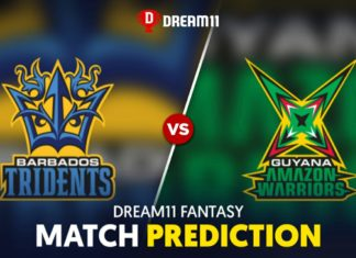 GUY vs BAR Dream 11 Team Prediction Caribbean Premier League (100% Winning)