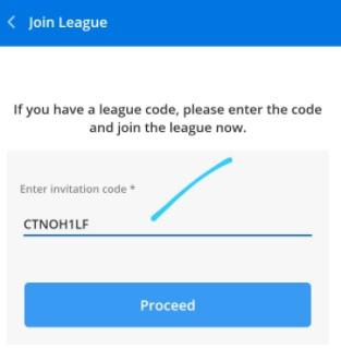 ballebaazi giveaway league code