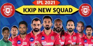 punjab kings squad