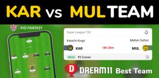 MUL vs KAR Dream11 Team Prediction Qualifier PSL 2020 (100% Winning Team)