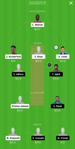 KAR vs LAH Dream11 Team Prediction For Grand League