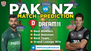 NZ vs PAK 2nd T-20 Dream11 Team Prediction Today
