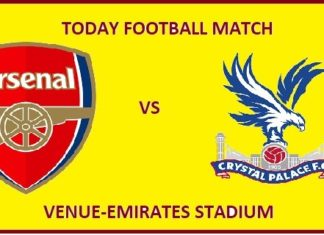 ARS VS CRY TODAY DREAM11 FOOTBALL MATCH