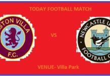 AVL VS NEW TODAY DREAM11 FOOTBALL MATCH