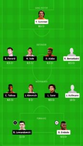 MOB VS BAY TODAY DREAM11 FOOTBALL TEAM