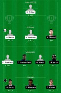 BAR VS CHE TODAY DREAM11 FOOTBALL TEAM