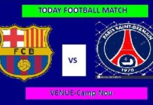 BAR VS PSG TODAY DREAM11 FOOTBALL MATCH