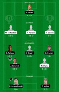 HER VS BAY TODAY DREAM11 FOOTBALL TEAM
