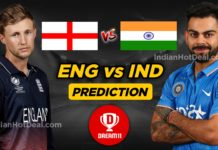 ENG vs IND 1st Test Dream11 Team Prediction Today