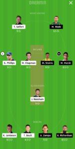 NZ vs AUS Dream11 Team for grand league