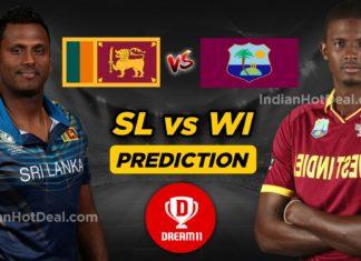 WI vs SL 1st Test Dream11 Team & Prediction, Squad, Pre Info