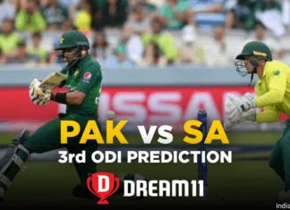 SA vs PAK Dream11 Team Prediction 3rd ODI Match (100% Winning Team)