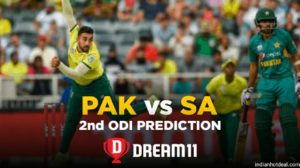 SA vs PAK Dream11 Team Prediction 2nd ODI Match (100% Winning Team)