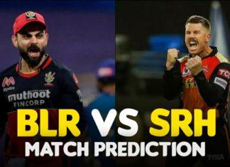 SRH vs BLR Dream11 Team Prediction 6th Match IPL 2021 (100% Winning Team)